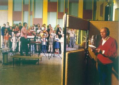 Toon Hermans in Studio